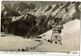 L'Alpes D'Huez Gare Intermédiaire Roby N°399 - Autres Communes