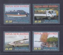 Papua New Guinea 2013 Public Transport Stamps MNH - Papoea-Nieuw-Guinea