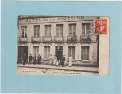 CPA (61) Orne - ALENCON -  - Commerce, Restaurant  Hôtel De La Victoire ( Des Jardins ) Tenue Par Anfray - Alencon