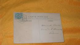 CARTE POSTALE ANCIENNE CIRCULEE DE 1904..LA COMTESSE D'OSMONT .CACHET EXPOSITION DE TIMBRE POSTE ILLUSTREE PARIS ?.. - Lettres & Documents