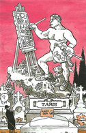 TARDI  -  Carte Le Père Lachaise  (a30) (EB) - Postkaarten