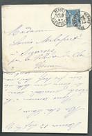 Lac Affranchie Par Yvert N° 101  Obli. Cad Rennes 13/09/1997 -   Raa 7607 - 1877-1920: Periodo Semi Moderno