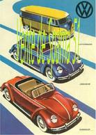 VW Combi   Pub  Combi & Cox -  A 3 Plastifiée - Coches