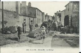 ILE DE RE - ARS EN RE - Le Battage - Ile De Ré