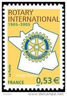 France Autoadhésif N°   52 ** Ou 3750 A - Centenaire Du Rotary - Sellos Autoadhesivos