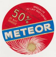ETIQUETTE DE FROMAGE METEOR 55 C - Quesos