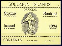 Iles Solomon  Carnet Neuf ** En Parfait état De 12 Timbres, 6 à 18 Cent. 6 à 35 Cent  Pilze, Mushroom Setas Champignon - Mushrooms