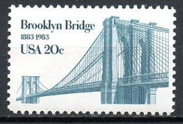 USA. N°1475 De 1983. Pont De Brooklyn. - Bridges