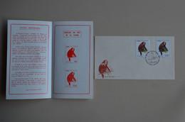 Peru 1974 FDC + Info Protection De La Nature Singe Monkey Mono  Perou - Mono