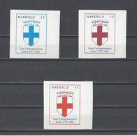 FRANCE.  YT  Grève  MARSEILLE  Neuf Sans Gomme  1988 - Strike Stamps