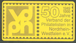 """Düsseldorf 1999 """" 50 Jahre VDPH Verband Der Philatelisten NRW """" Vignette Cinderella Reklamemarke - Cinderellas"""