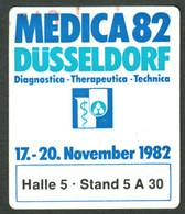 """Düsseldorf 1982 """" Medica 82 Medizinausstellung """" Vignette Cinderella Reklamemarke - Cinderellas"""
