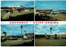 St Etienne De St Geoirs Aéroport De Grenoble Vues Multiples - Otros Municipios