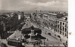 CAGLIARI - LARGO CARLO FELICE - VIAGGIATA - Cagliari