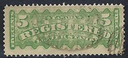 CANADA Recommandés 1875: Le Y&T 2 Obl. - Recomendados