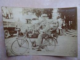 Petite Photo Moto Ancienne PEUGEOT - Sonstige