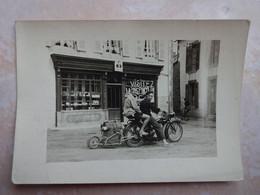 Petite Photo Moto Avec Une Remorque - Sonstige