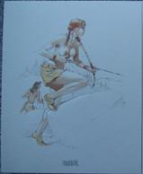 Juillard - Plume Aux Vents 3 - Ex Libris Brusel - Illustratoren J - L