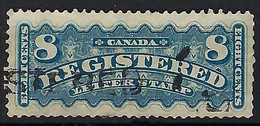 CANADA Recommandés 1875: Le Y&T 3, Obl., Forte Cote - Recomendados