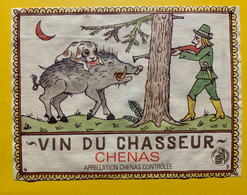 17363 -  Vin Du Chasseur Chénas Sanglier - Hunting