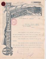 42 SAINT ETIENNE St COURRIER 189/ Manufacture Française D'armes  X93 LOIRE - 1800 – 1899