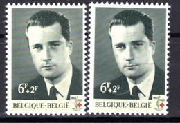 1268** V7 Poil Flottant à Droite De L'oreille - Cote 8,00 € - Abarten (Katalog Luppi)
