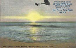 TRAVERSEE DE LA MANCHE-BLERIOT-RECLAME VAN DE PUTTE-PIETERS,GAND-FABRICANT DE CYCLES-AQUA PHOTO 1830 - ....-1914: Precursors