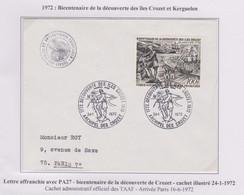TAAF - Iles Australes - Crozet - Decouverte - Pa27 - Lettres & Documents