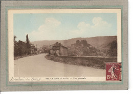 CPA - (82) CAYLUS - Aspect De L'entrée Du Bourg Dans Les Années 30 - Caylus