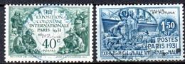 Wallis Et Futuna: Yvert N° 68/69; 2 Valeurs - Used Stamps