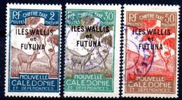 Wallis Et Futuna: Yvert N° Taxe 11-18-19; 3 Valeurs - Used Stamps