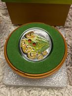 Niue Island 2 Dollar Money Frog , Silver Coin , 2015 Year - Niue
