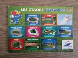 France 9 Stades De La Coupe Du Monde 98 Référence France 98 - Sin Clasificación