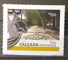 Portugal - 2019 -MNH As Scan - Self Adhesive Stamps - Lisbon - Center - Portuguese Sidewalk - 1 Stamp - FACE VALUE!!! - Ungebraucht