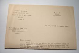 LE  LUC  ( Var ) - DISTILLERIE Du LUC -Quartier Des Moulins  - Distillation Des Vins-  ALCOOL - VITICULTURE   ( 1955   ) - 1900 – 1949