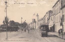 LA ROCHELLE   Quai Valin    Tram  Publicité - La Rochelle