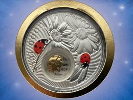 Niue Island 2 Dollar Ladybird Series Lucky Coins , Silver Coin , 2012 Year - Niue