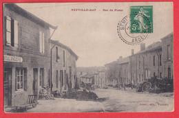 ARDENNES NEUVILLE DAY RUE DU PISSOT VOYAGE 1913 - Otros Municipios