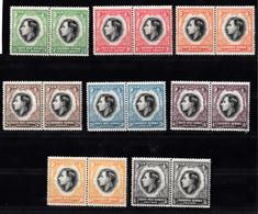 Zuidwest- Afrika 1937 Mi Nr 182 - 197 In Paren, Kroning Van Koning Georg VI - Africa Del Sud-Ovest (1923-1990)