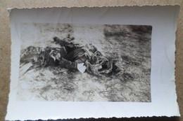 AVIATEUR ALLEMAND - Photo Originale - Avion Abattue Avant Sont Arrivée à Jarny- Militaria ( 54 Meurthe Et Moselle ) - 1939-45
