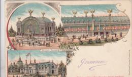 BRUXELLES / BRUSSEL / MUSEE SCOLAIRE  / CARTE LITHO 1900  PRECURSEUR - Monumentos, Edificios