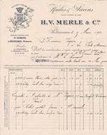 13330 Merle & Cie Savons Et Huiles Pélissanne 1902 - 1900 – 1949