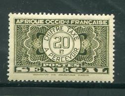 SENEGAL- Taxe Y&T N°25- Neuf Avec Charnière * (gomme Altérée) - Postage Due