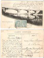 77 - MELUN - Pont Du Chemin De Fer - Melun