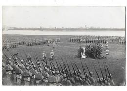 SULLY SUR LOIRE (45) Carte Photo Rassemblement Des Troupes Polonaises En Bord De Loire Guerre 1914-18 - Sully Sur Loire