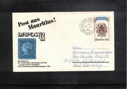 Mauritius 1981 Interesting Letter - Mauritius (1968-...)
