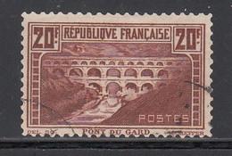 1929-31 Yvert Nº 262B, Denteluer 11. - Oblitérés