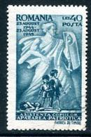 ROMANIA 1945 Child Relief Used.  Michel 897 - Usado