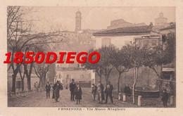 FROSINONE - VIA MARCO MINGHETTI F/PICCOLO VIAGGIATA 1916 BELLA ANIMAZIONE - Frosinone