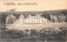 65 Chutes De La Lubilash Près De Tshala  - Congo Belge - 10 Centimes Stamp - Kinshasa - Leopoldville